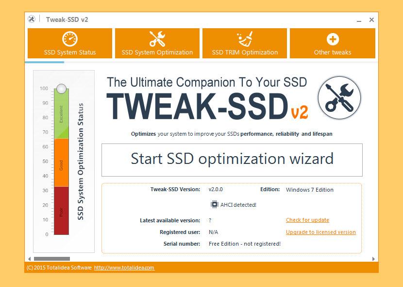 Tweak SSD