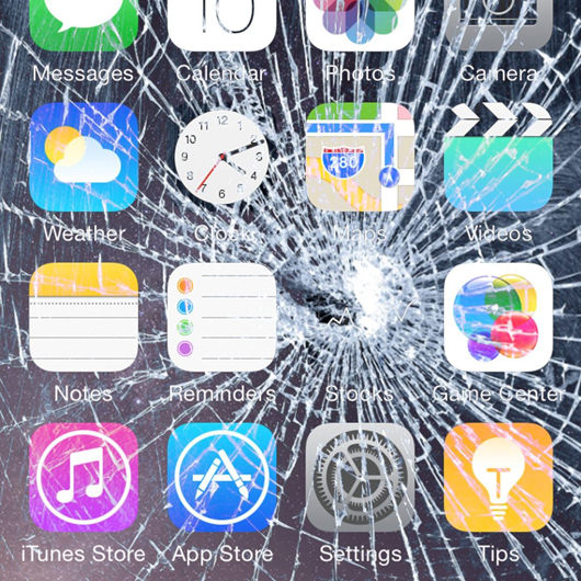 Broken Screen Wallpaper: 7 Broken Screen Wallpapers Prank For Apple IPhone
