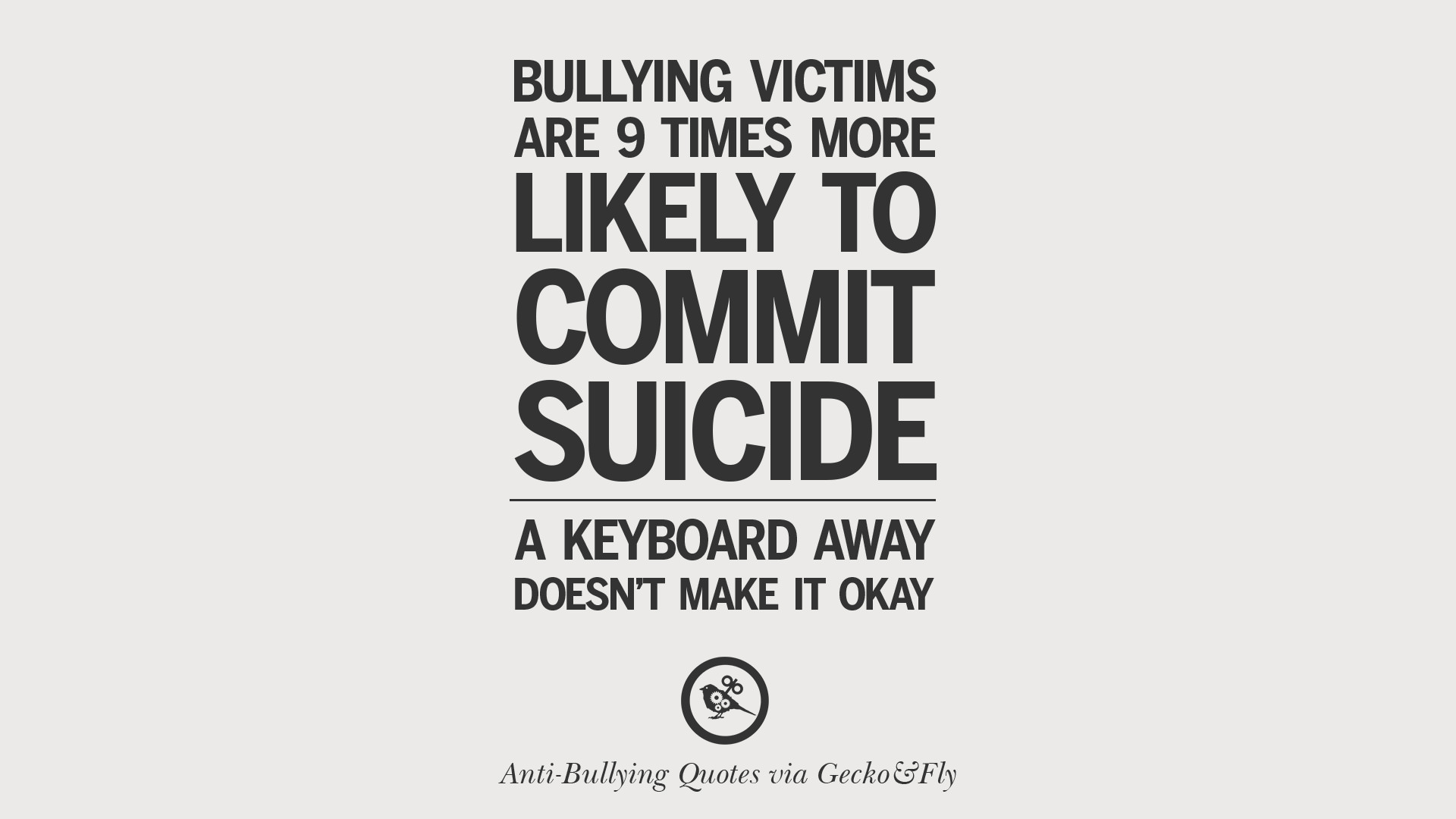 Bullying Quotes Enchanting 12 Quotes On Anti Cyber Bulling And Social Bullying Effects