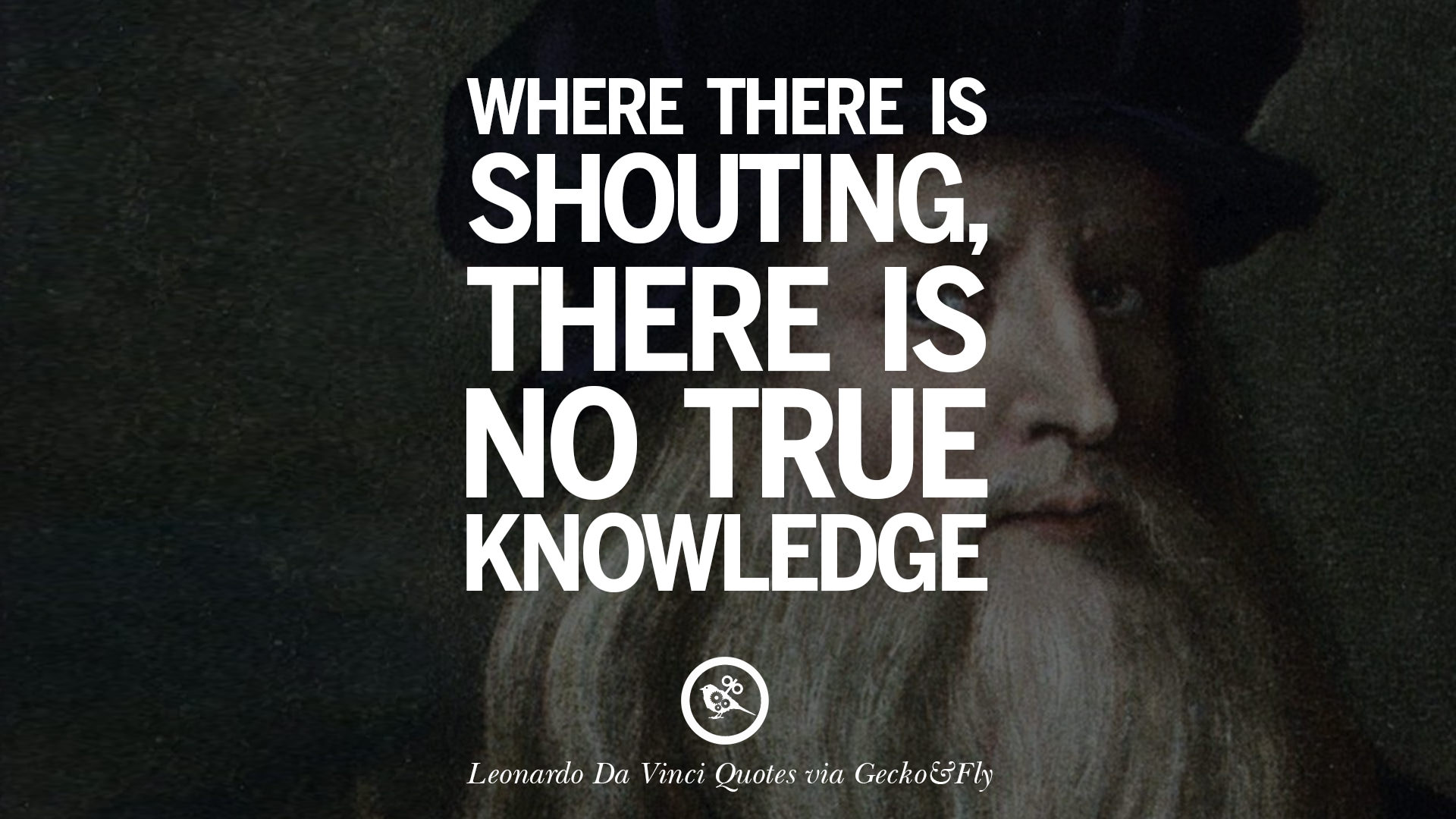Charming Where There Is Shouting, There Is No True Knowledge.