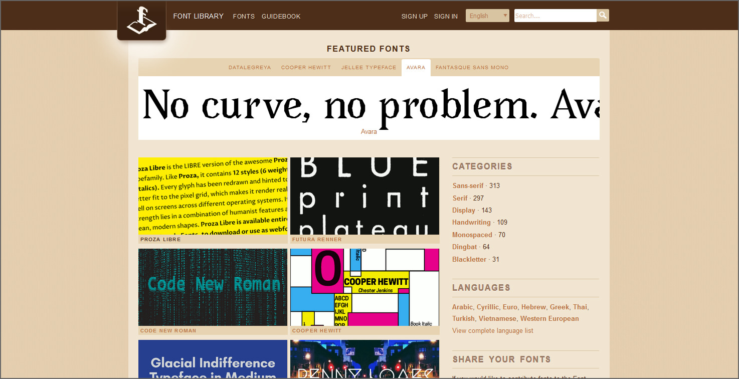 5 Sites With Free Fonts For Commercial Use For Typeface Enthusiasts