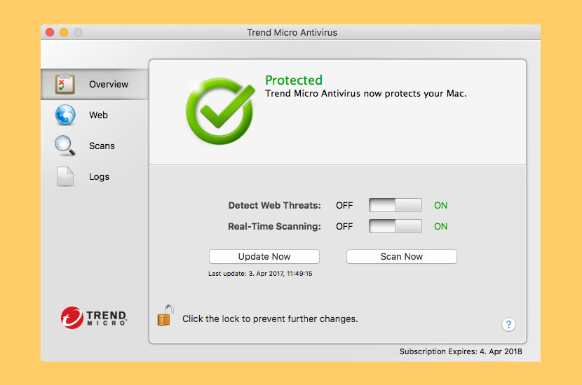 TrendMicro Antivirus for Mac
