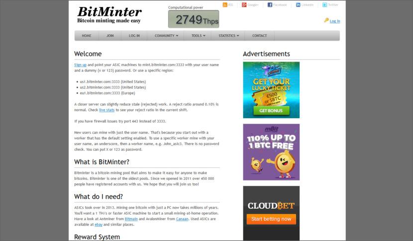 Bitminter