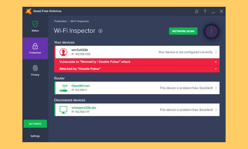 Avast Wi-Fi Inspector