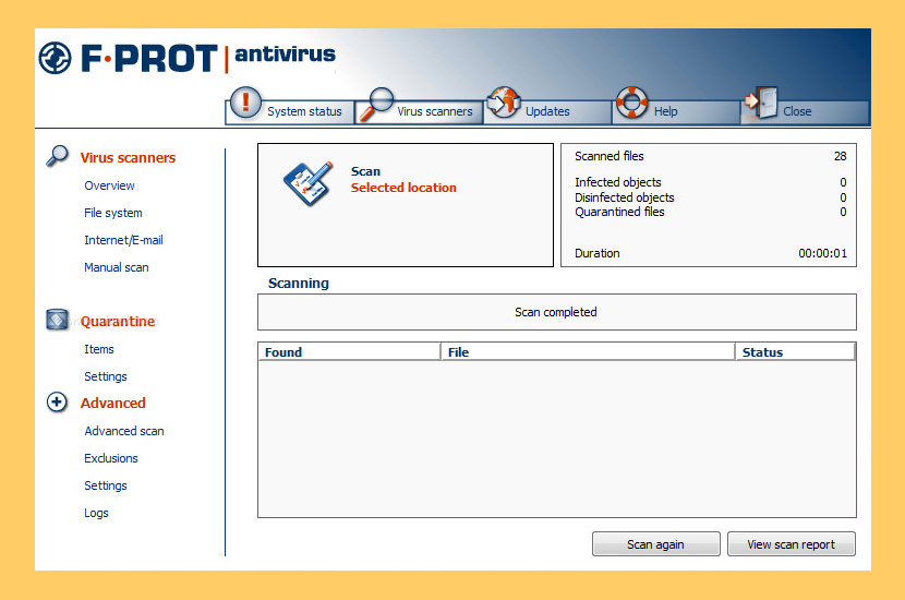 F-PROT Antivirus For Linux Workstations