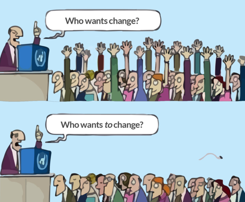 Change and Changing Our Attitudes