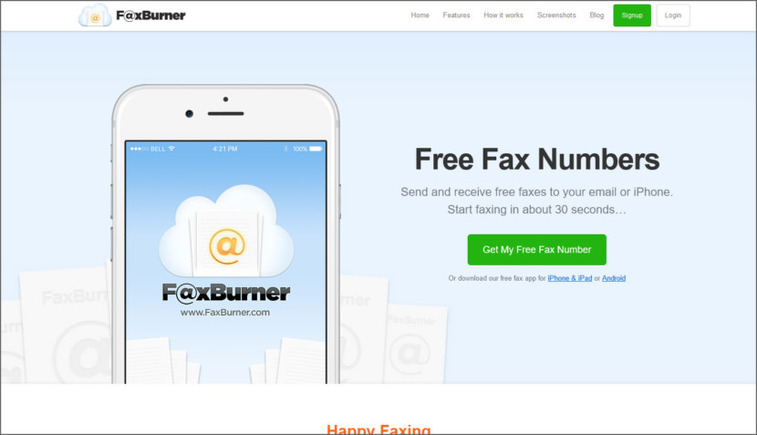 how to get a fax on your iphone