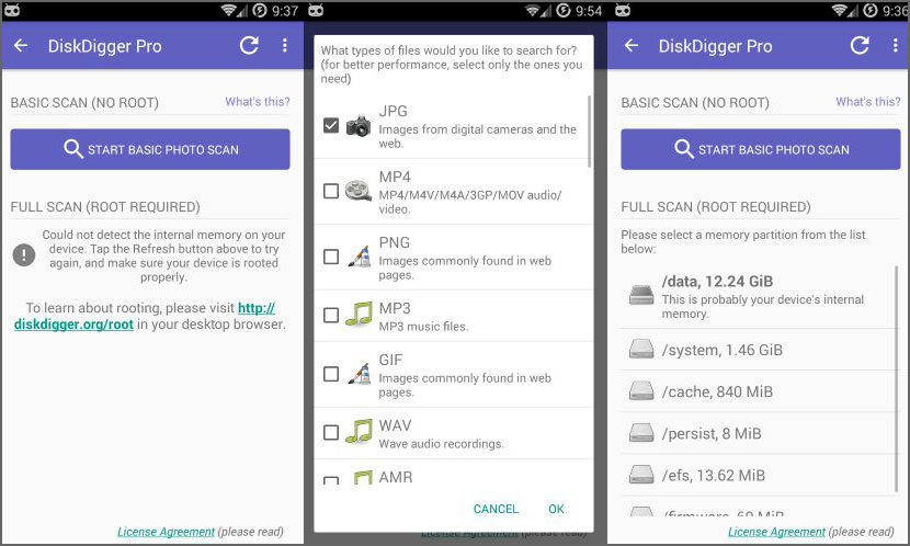 DiskDigger for Android