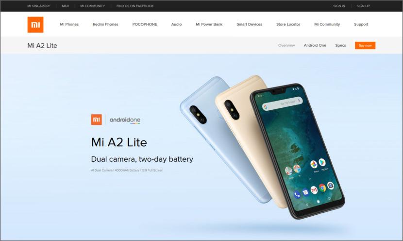 XiaoMi A Series