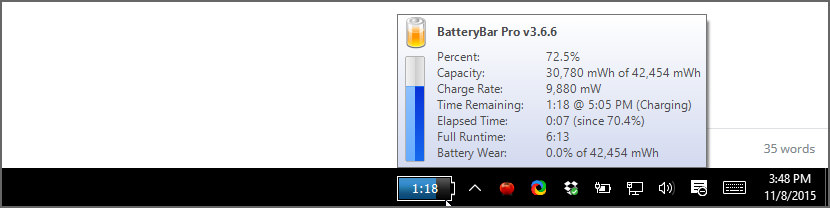 BatteryBar Basic