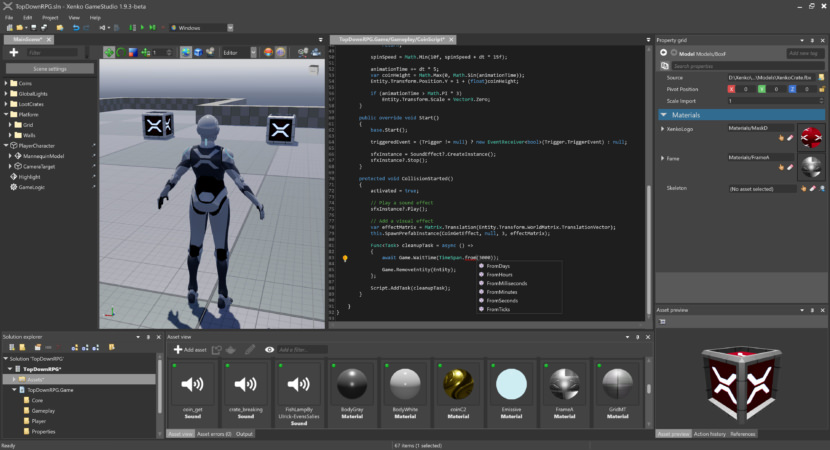 Xenko Game Engine