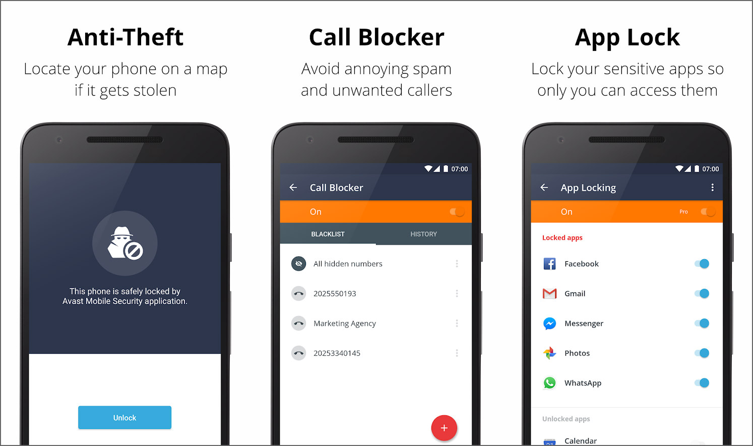 26 Best Android Antivirus Free Anti Theft Applock Call Blocker And More