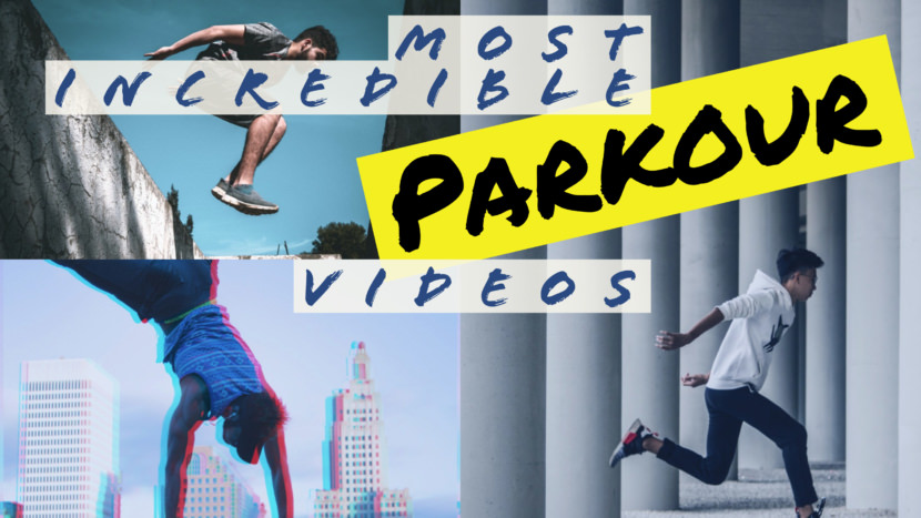 jumping outdoor parkour Free YouTube Thumbnail Art Templates