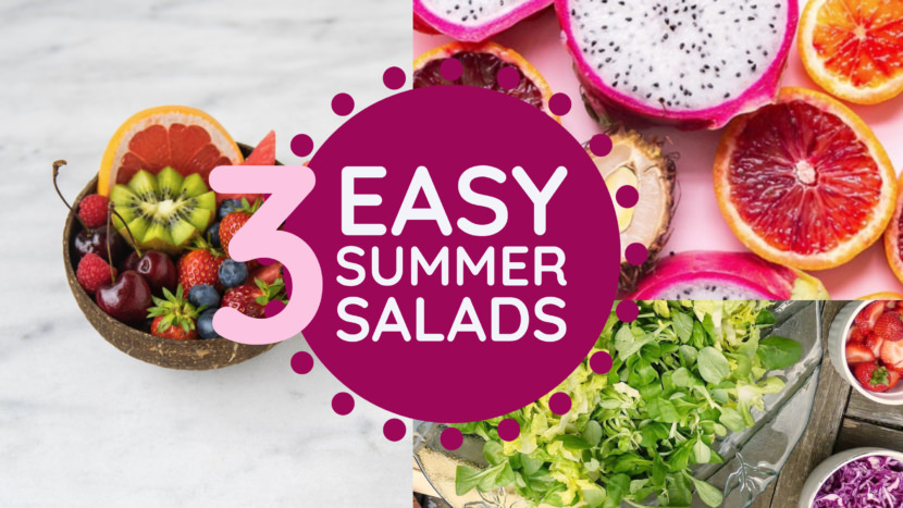 healthy food summer salads Free YouTube Thumbnail Art Templates