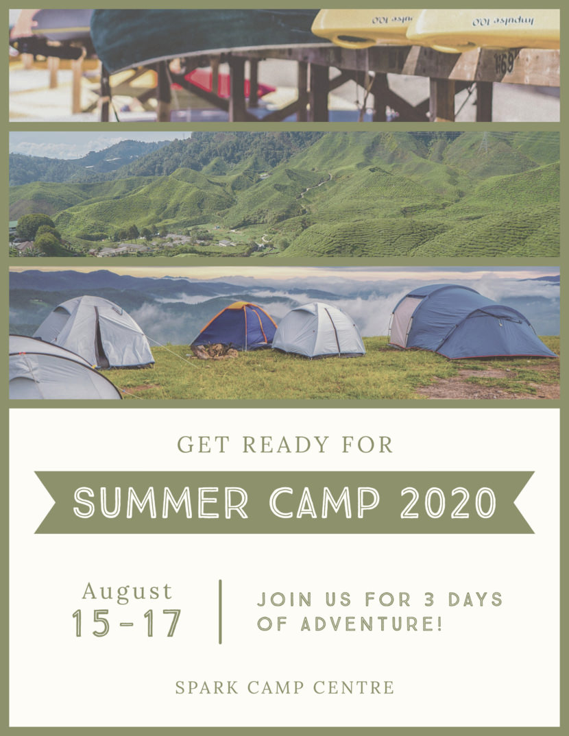 summer camp outdoor adventure Free Poster And Flyer Templates