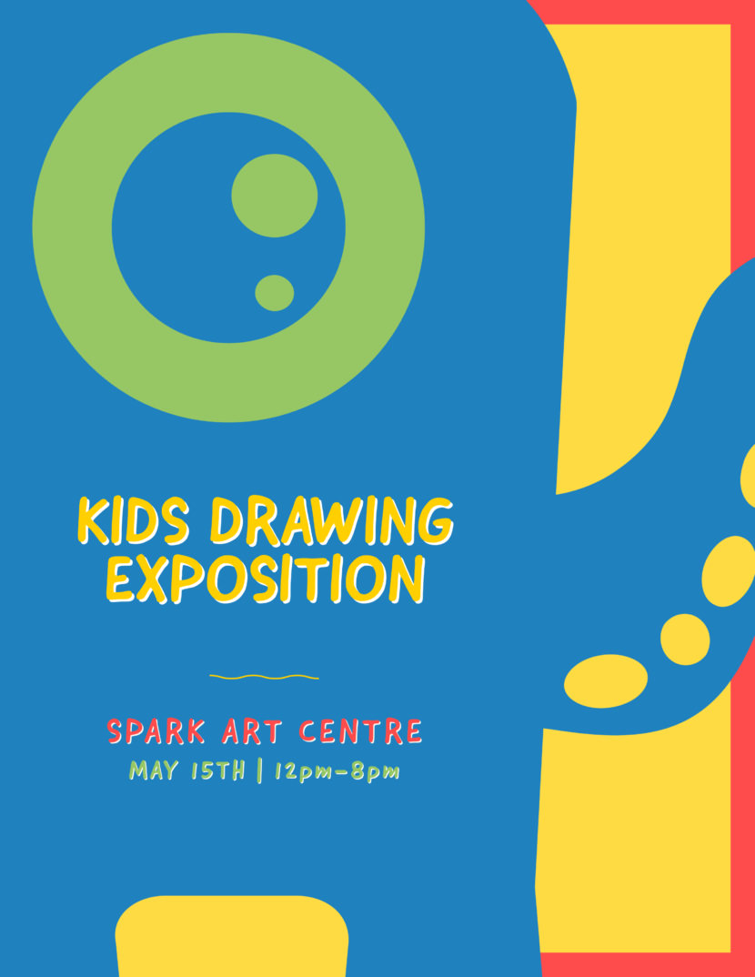 kids drawing competition Free Poster And Flyer Templates