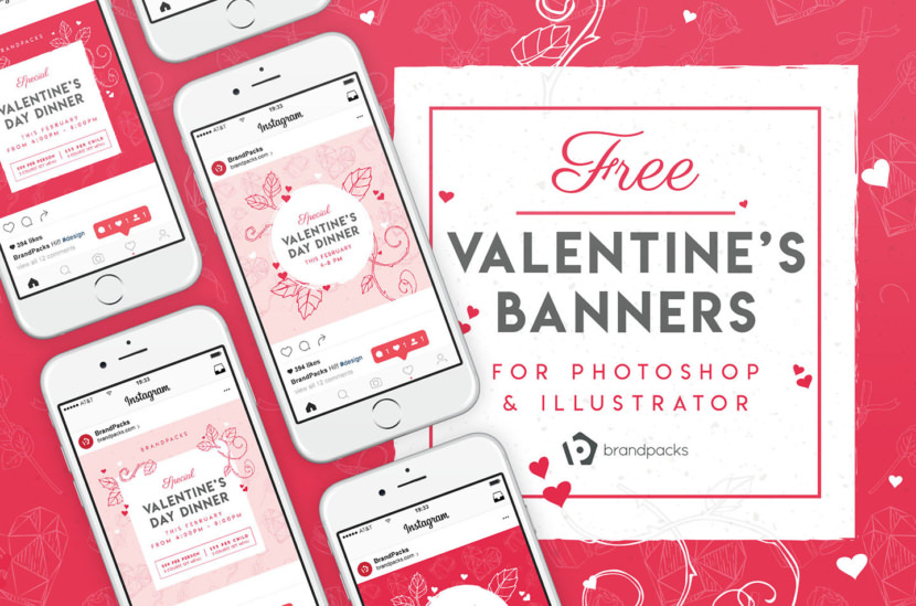 Valentine Instagram Template