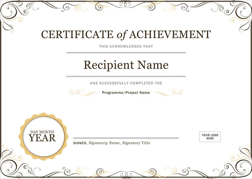 Creative Blank Certificate Templates