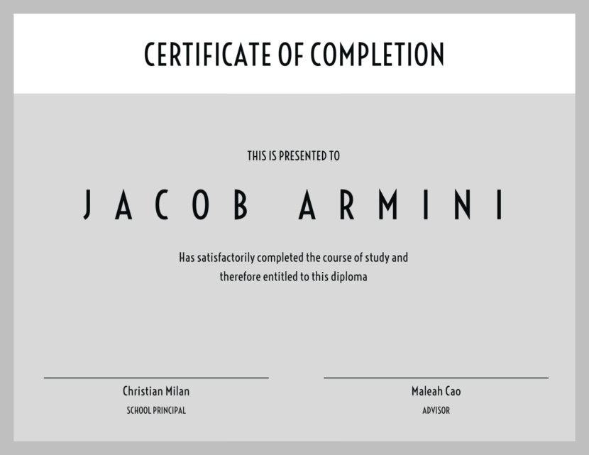 study diploma Blank Certificate Templates