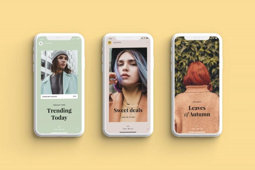 Fashion Instagram Stories Template