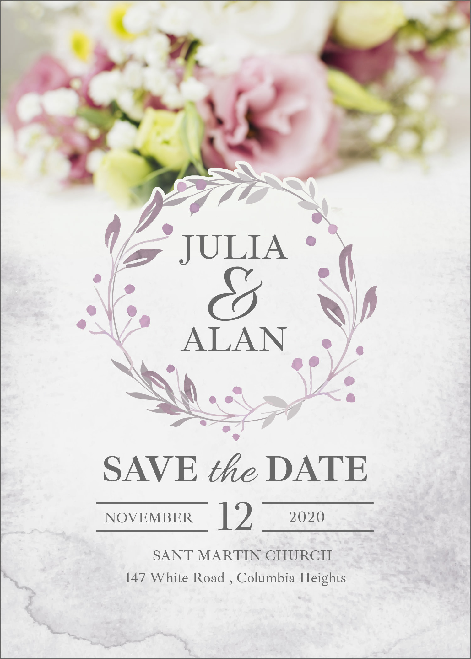 20 Free Wedding Invitation Template Cards - Printable And ...